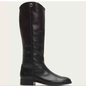🔥NIB Frye Melissa Button 2 Black Leather Boots